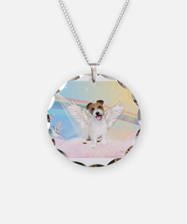 Angel /Jack Russell Terrier Necklace