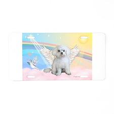 Maltese / Angel Aluminum License Plate