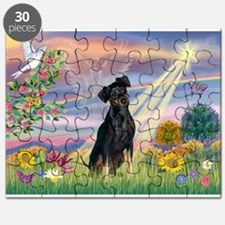 Cloud Angel / Miniature Pinsc Puzzle