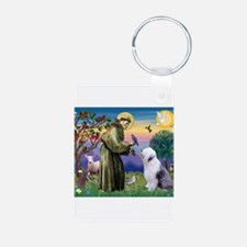 ST. FRANCIS + OES Keychains