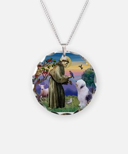 ST. FRANCIS + OES Necklace