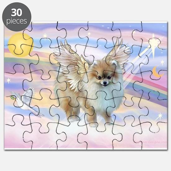 Pomeranian / Angl (s&w) Puzzle