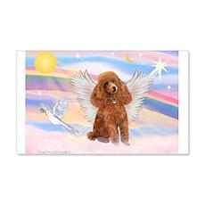 Angel/Poodle (Aprict Toy/Min) 22x14 Wall Peel