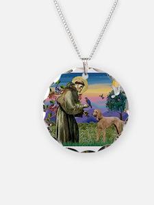 St Francis / Poodle Std (a) Necklace