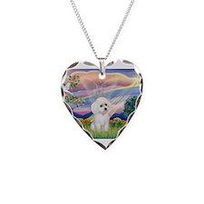 Cloud Angel /Poodle(min W) Necklace