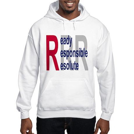 Coast Guard Auxiliary <BR>Hooded Sweatshirt