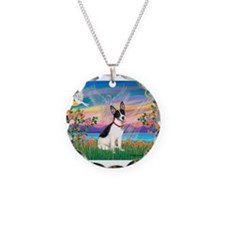 Guardian /Rat Terrier Necklace