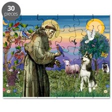 St Francis & Husky Puzzle