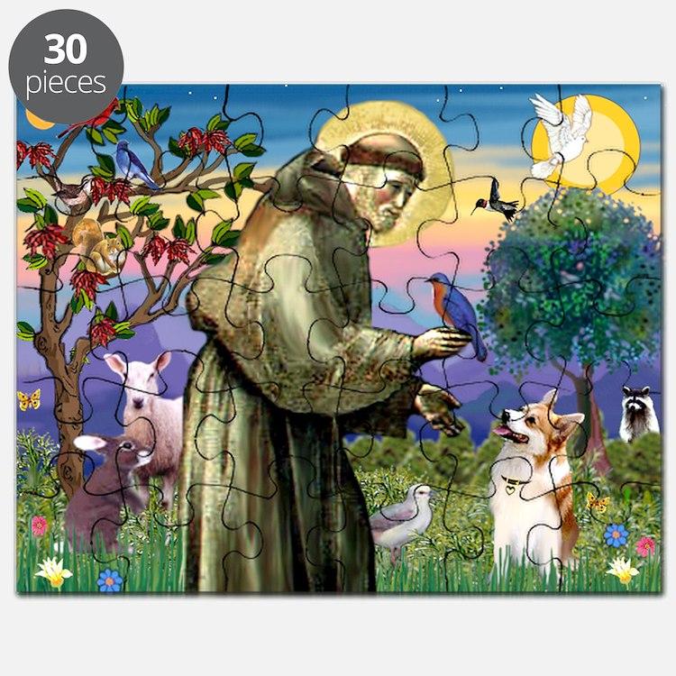 St Francis / Welsh Corgi (p) Puzzle