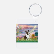 Cloud Angel /Welsh Corgi (c) Keychains