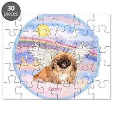 Pekingese Sassy Angel Puzzle