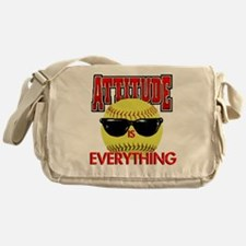 Attitude is Everything Messenger Bag