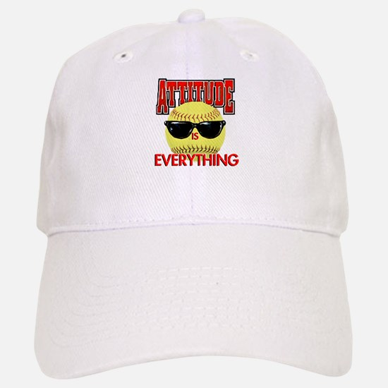 Attitude-Softball Baseball Baseball Cap