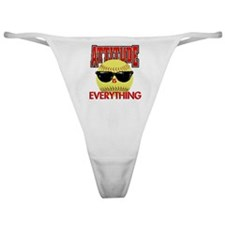 Attitude is Everything Classic Thong