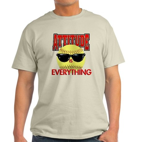 Attitude is Everything Light T-Shirt