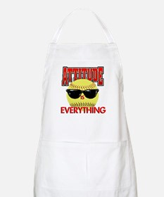 Attitude-Softball Light Apron