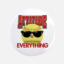 """Attitude is Everything 3.5"""" Button"""