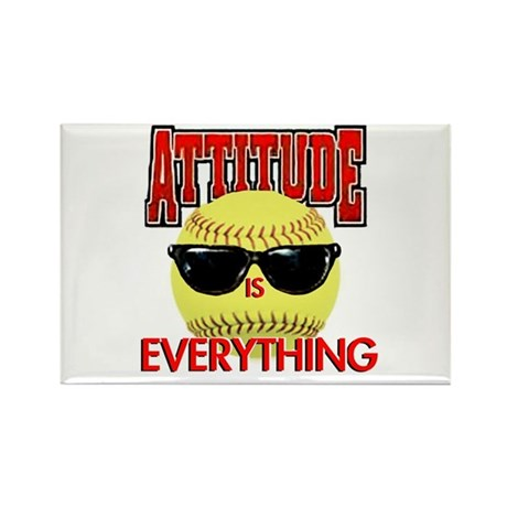 Attitude is Everything Rectangle Magnet (100 pack)