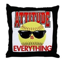 Attitude is Everything Throw Pillow
