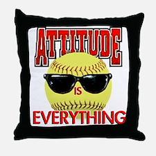 Attitude is Everything Throw Pillow
