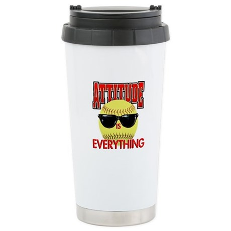 Attitude is Everything Stainless Steel Travel Mug