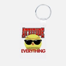 Attitude is Everything Keychains