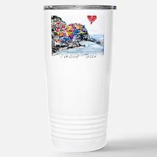 Cute Cinque terre Travel Mug
