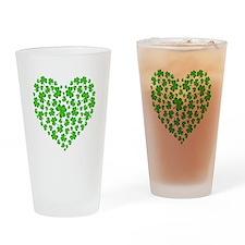 My Irish Heart Drinking Glass