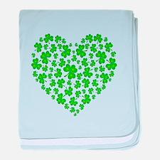 My Irish Heart baby blanket