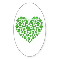 My Irish Heart Decal