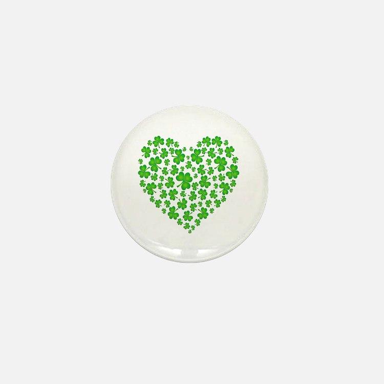 My Irish Heart Mini Button