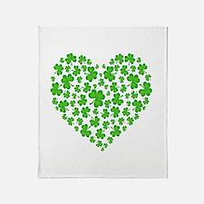 My Irish Heart Throw Blanket