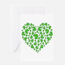 My Irish Heart Greeting Card