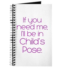 In Child's Pose Journal
