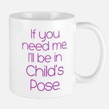 In Child's Pose Mug
