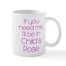 In Child's Pose Mug