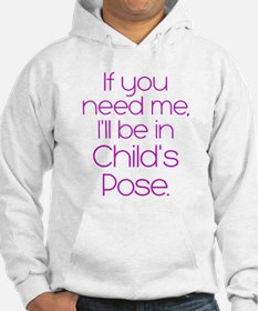 In Child's Pose Hoodie