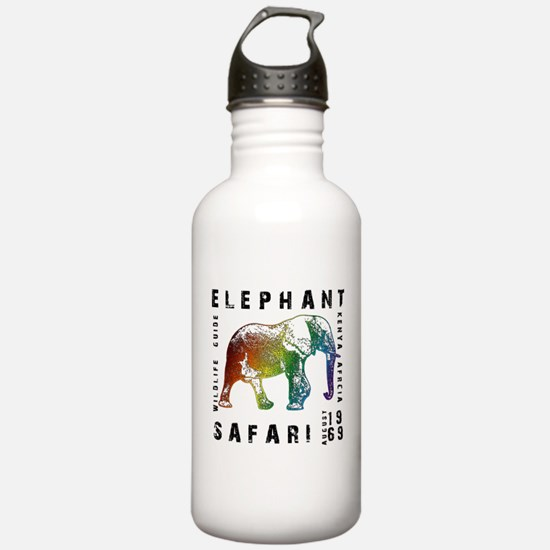 Elephant Safari Water Bottle