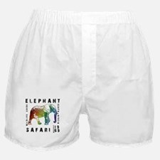 Elephant Safari Boxer Shorts