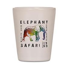Elephant Safari Shot Glass