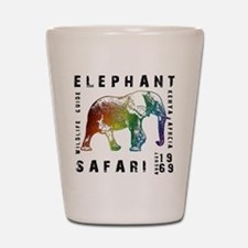 Elephant Safari Shot Glass