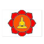 Sitting Lotus Postcards (Package of 8)