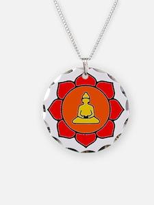 Sitting Lotus Necklace