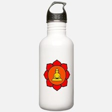 Sitting Lotus Water Bottle