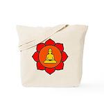Sitting Lotus Tote Bag