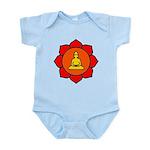 Sitting Lotus Infant Bodysuit