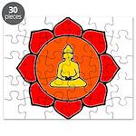 Sitting Lotus Puzzle