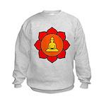 Sitting Lotus Kids Sweatshirt