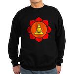 Sitting Lotus Sweatshirt (dark)