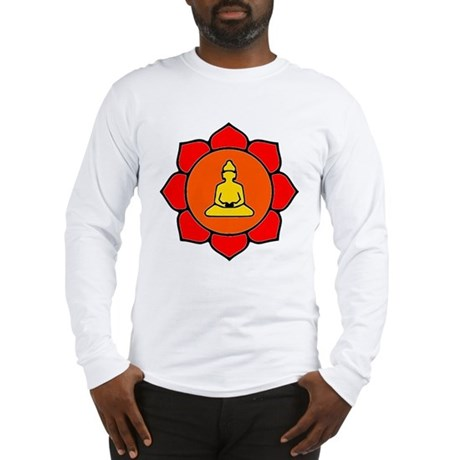Sitting Lotus Long Sleeve T-Shirt